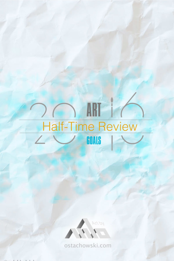 Half-Time Art Goals Review
