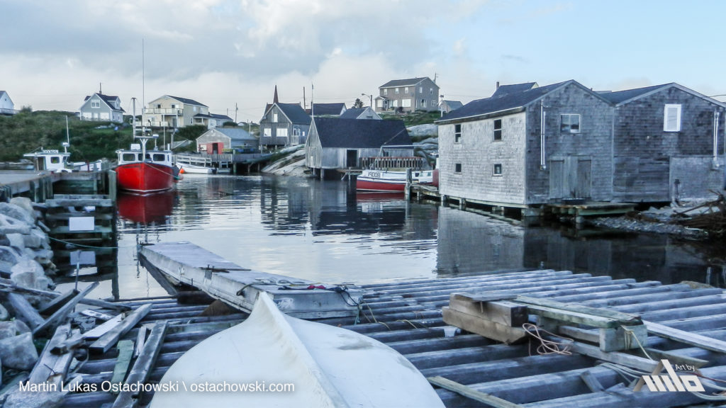 Peggy's Cove, Nova Scotia - Harbour View