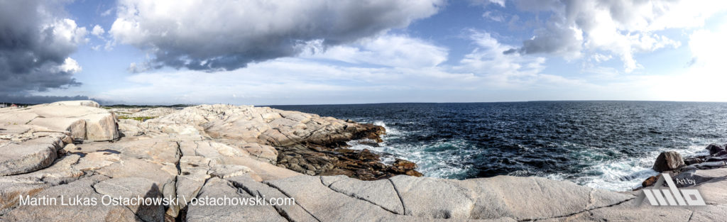 Peggy's Cove, Nova Scotia - Coastal View