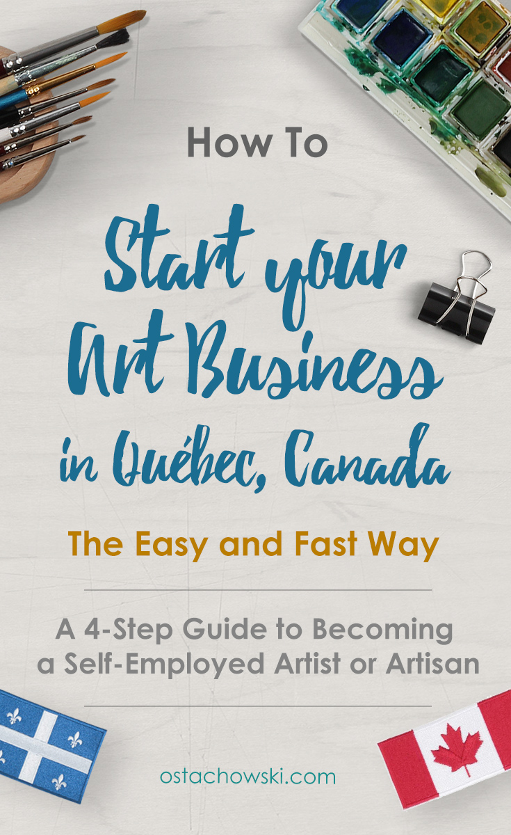 Start Your Art Business in Quebec, Canada