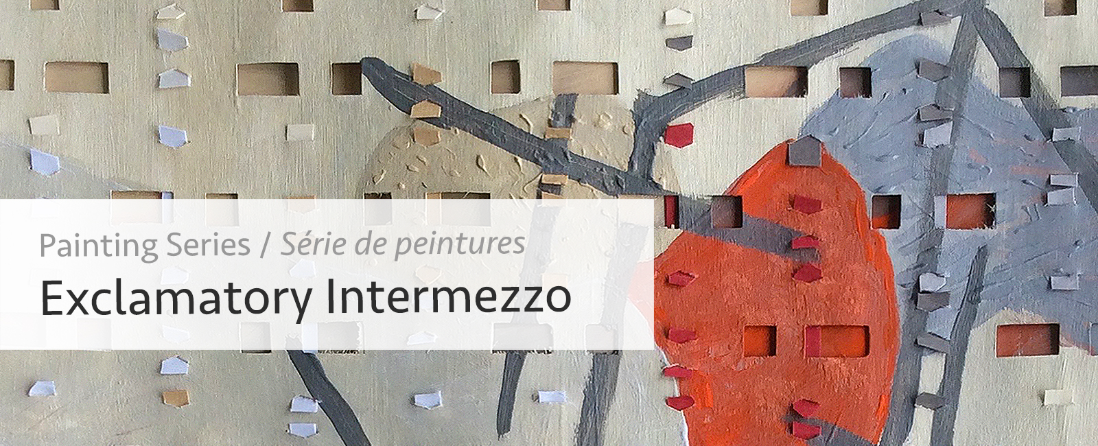 Abstract Painting Series Exclamatory Intermezzo