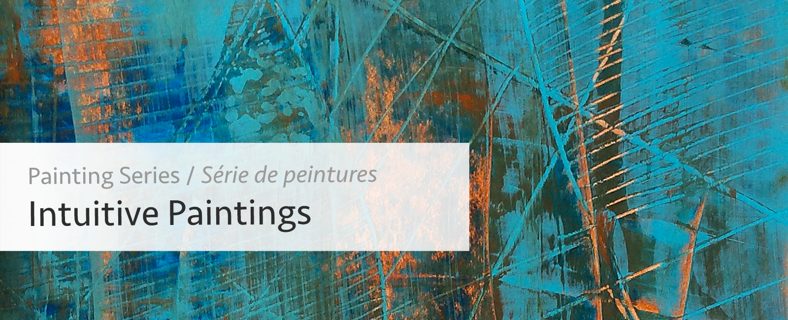 Recent Abstract Series Intuitive Paintings