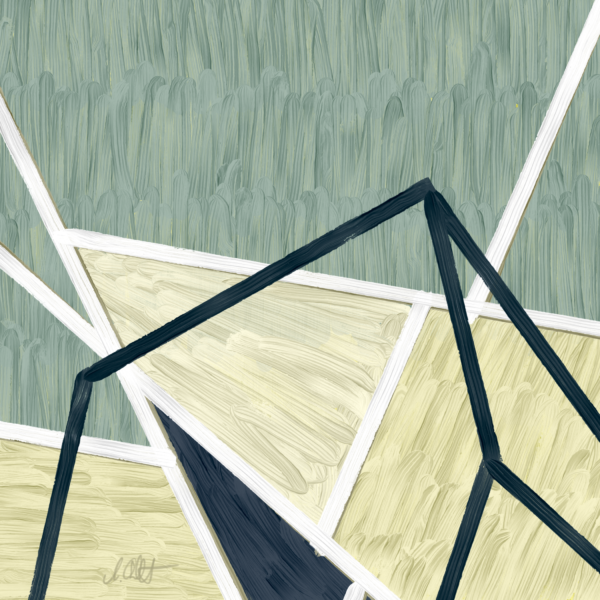 Emerging Shapes One (Triptych)