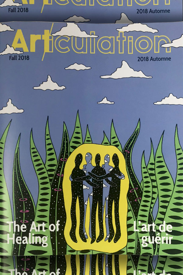 Featured in Articulation Magazine - Fall Issue - The Art of Healing