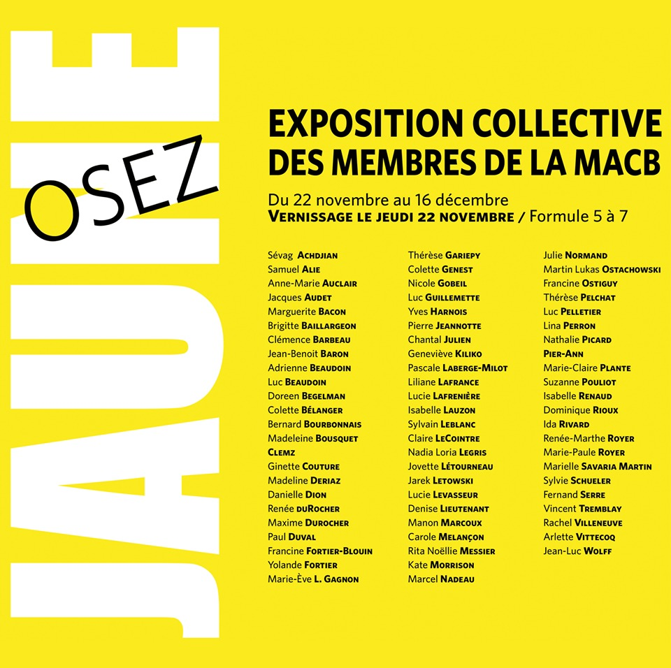 Osez Jaune Group Exhibition