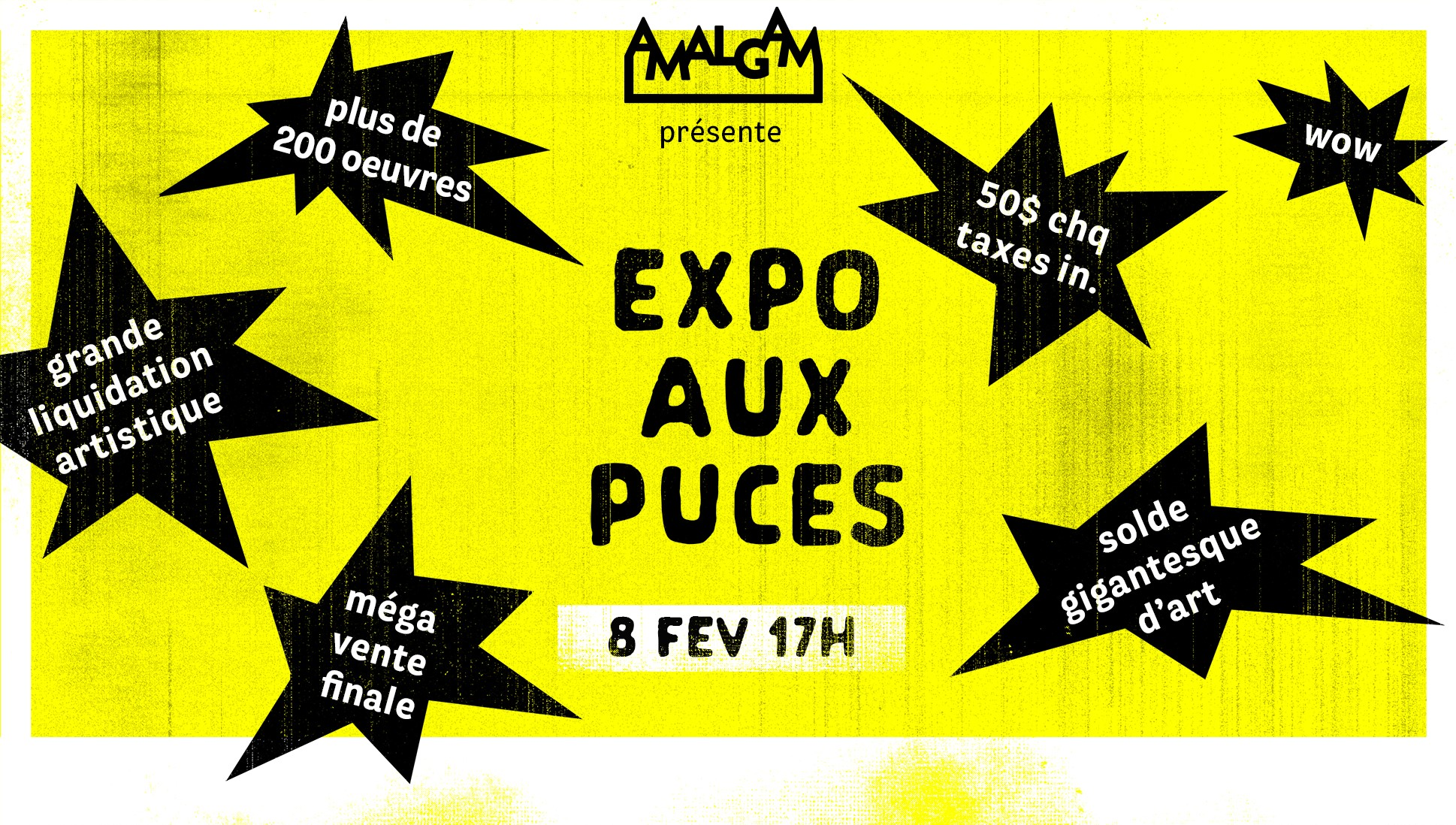 Expo Aux Puces - Affordable Art Show
