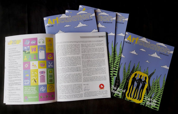 Art/iculation Magazine Fall Issue: The Art of Healing