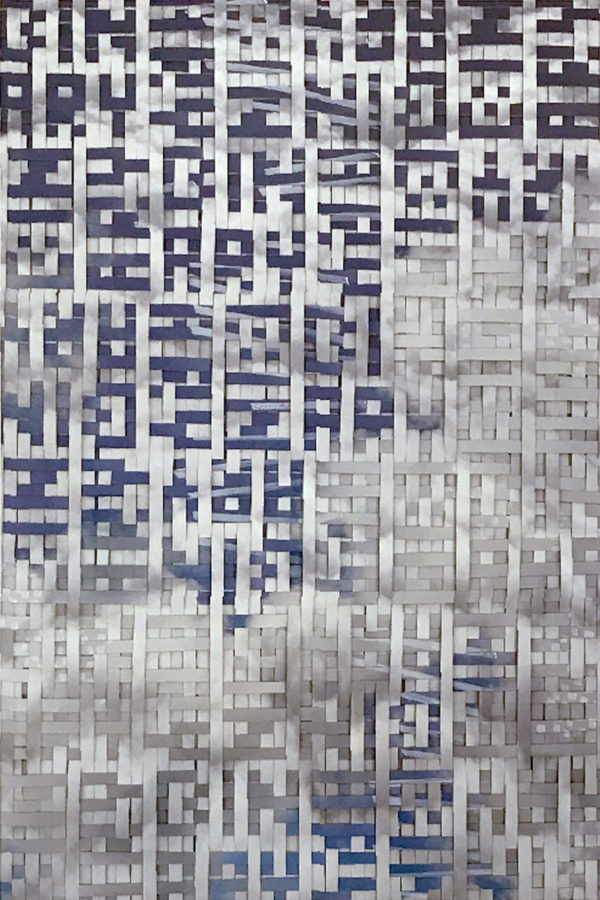 Binary Patterns - Woven Algorithms - Martin Lukas Ostachowski
