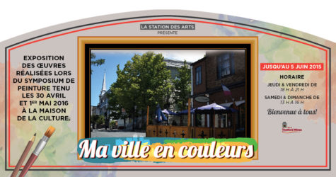 Ma Ville en Couleur Group Exhibition