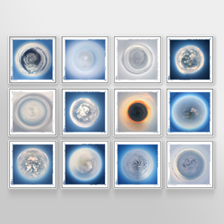 Cloud Sphere Collection<br/><br/>Archival print on photo board <br/>w/ frame and augmented reality<br/>12 times 16 x 16 in.<br/>Limited edition of 1<br/><br/>SOLD OUT