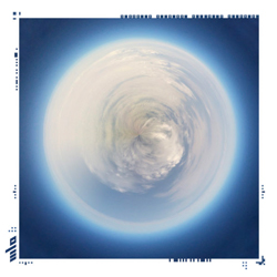Cloud Sphere Five<br/><br/>Archival print on photo board <br/>w/ frame and augmented reality<br/>16 x 16 in.<br/>Limited edition of 5<br/><br/>$ 500