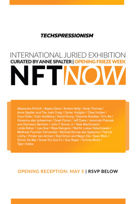NFT Now Group Exhibition Techspressionism